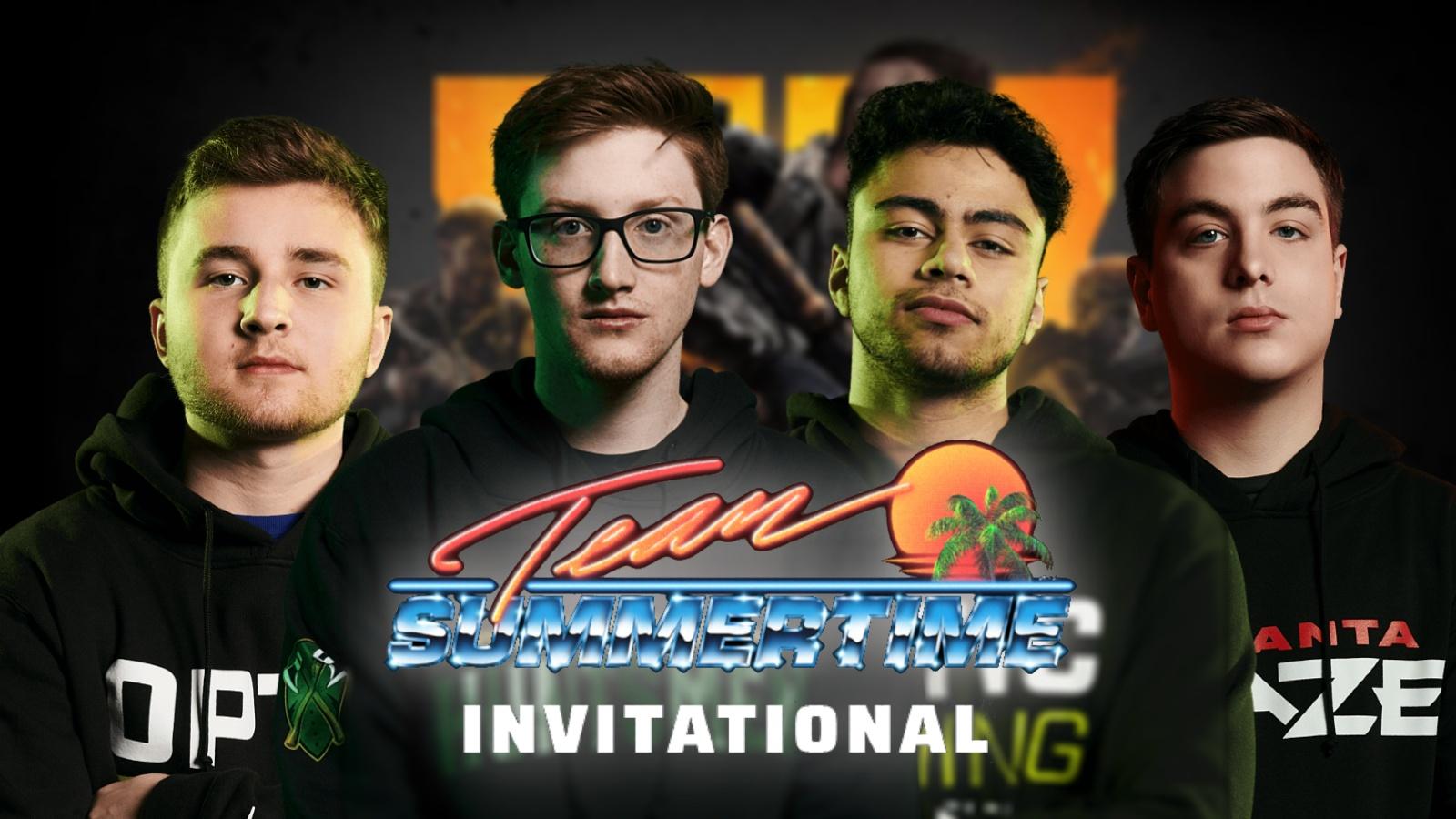 Team Summertime BO4 invitational