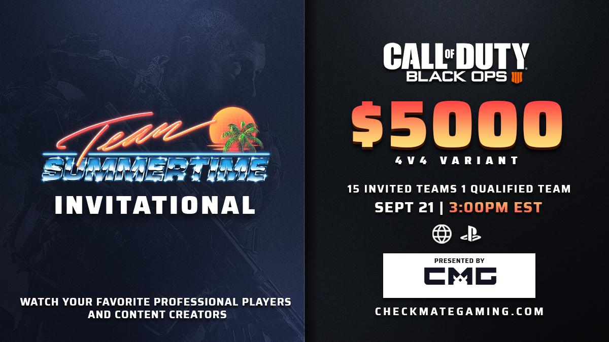 TST Black Ops 4 throwback tournament