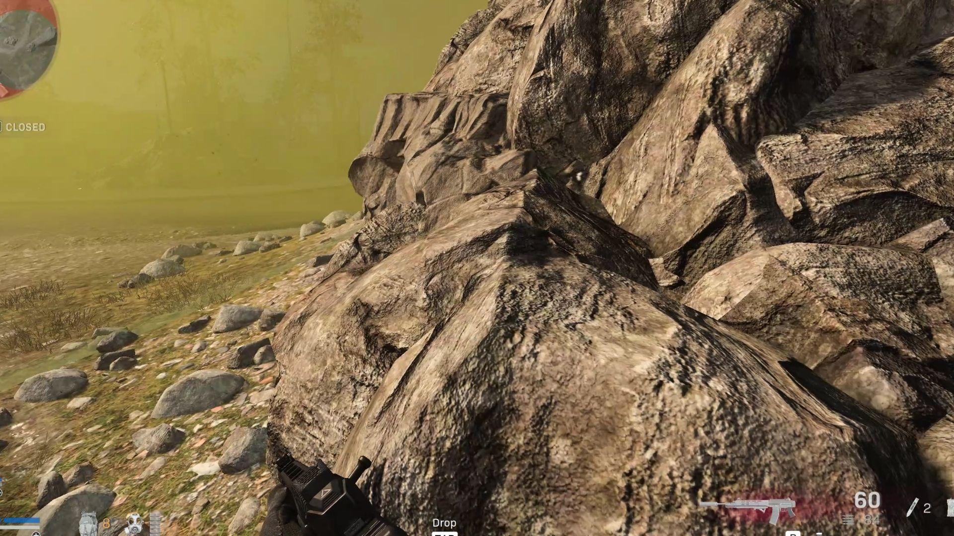 Warzone rocks