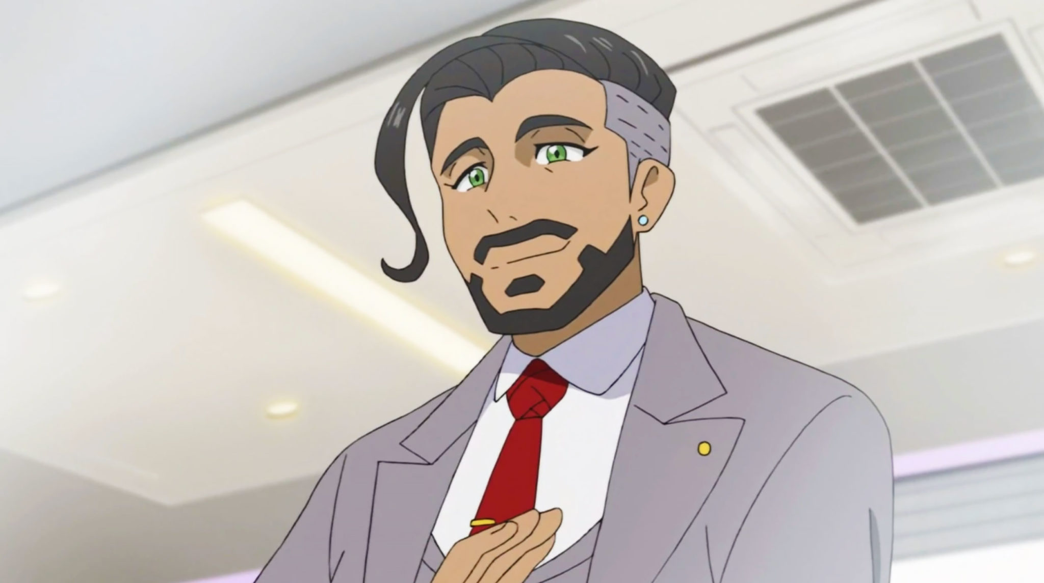 chairman rose pokemon sword shield anime