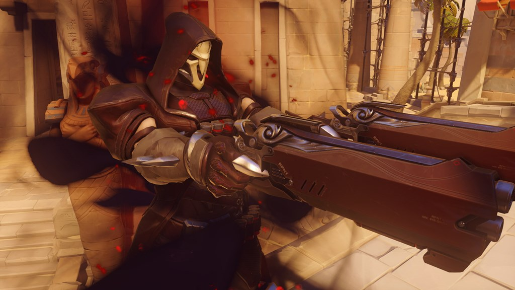 Reaper teleports on Temple of Anubis
