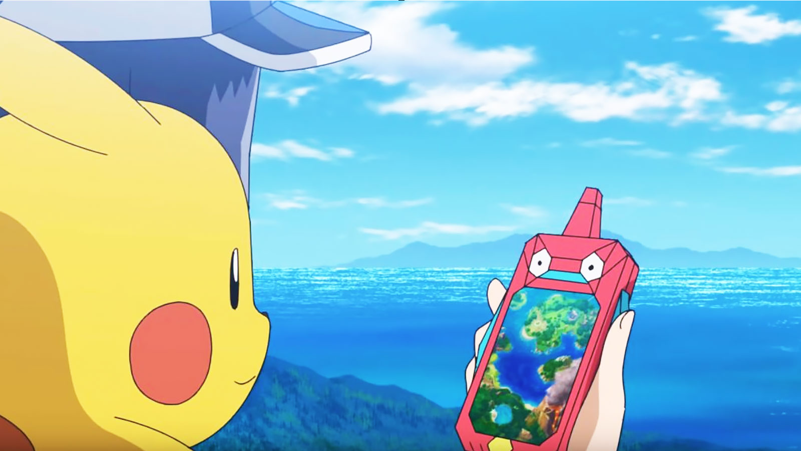 rotom phone in pokemon anime