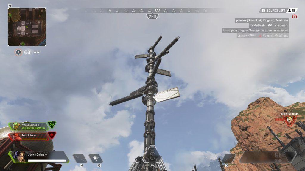 Repulsor Tower in Apex Legends
