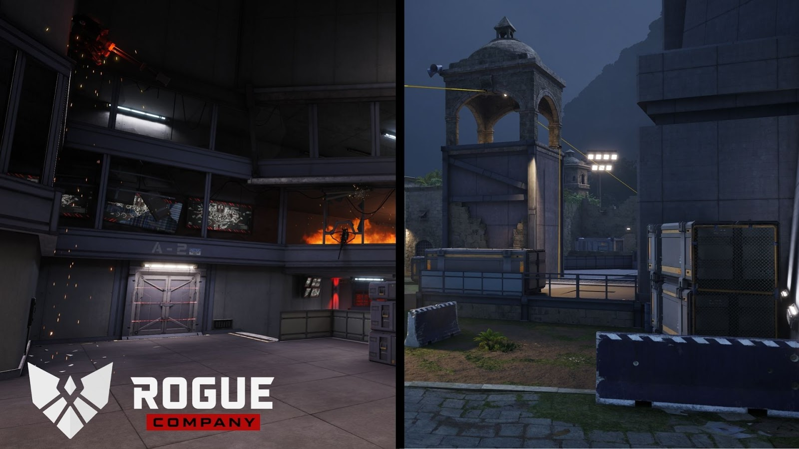 Rogue Company lockdown map