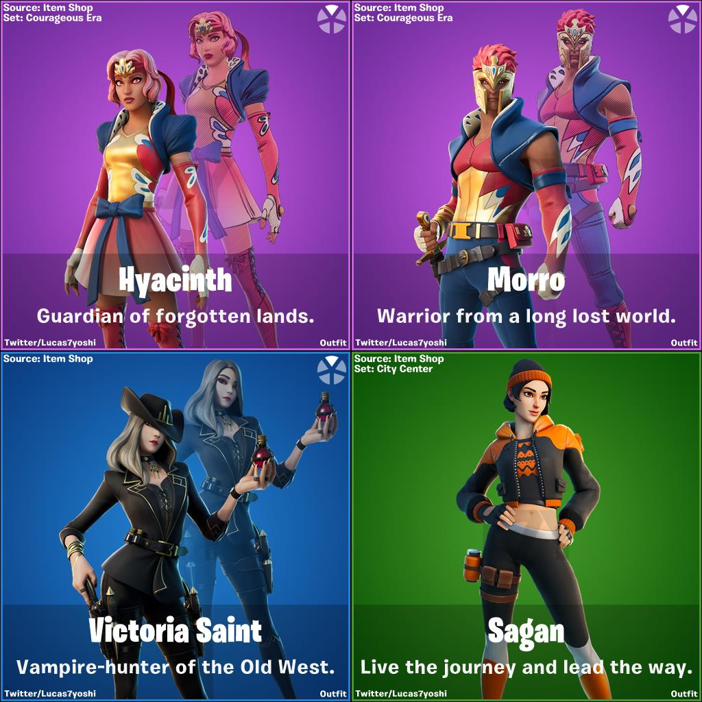 All leaked fortnite character skins from v14.20 update