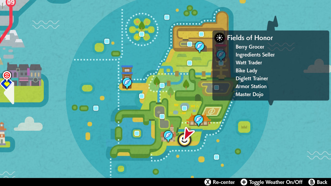 Chansey Isle of Armor locations