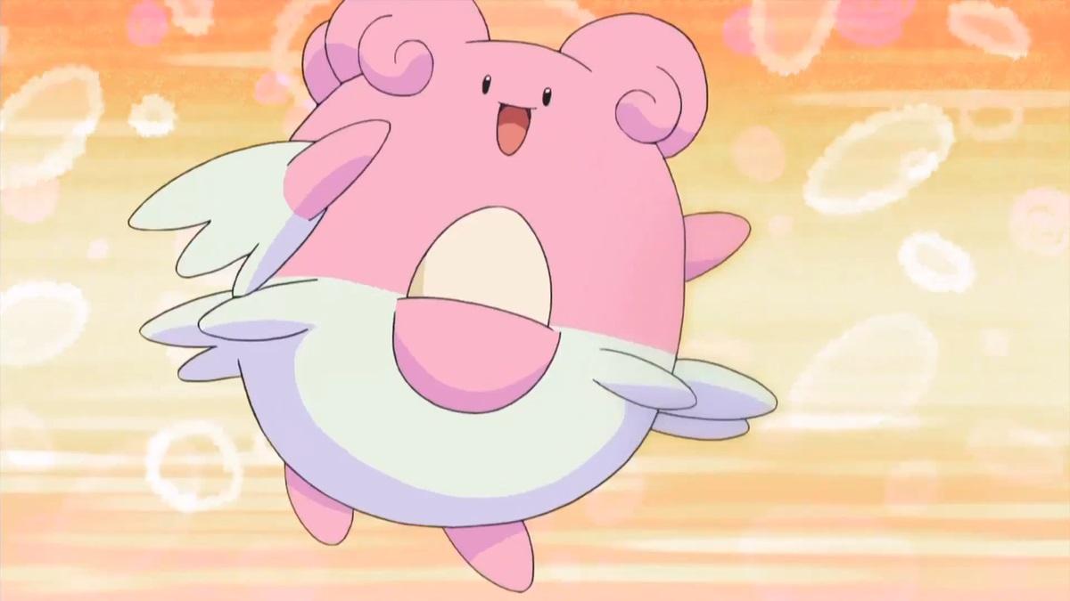 Blissey Pokemon anime