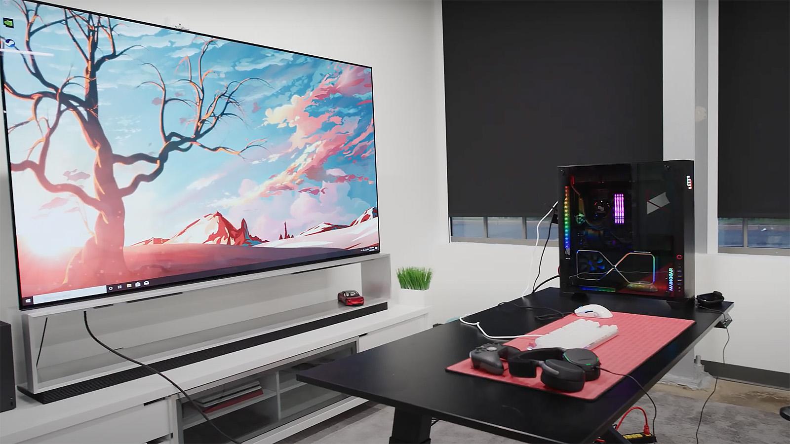 Marques Brownlee 8K Gaming Setup