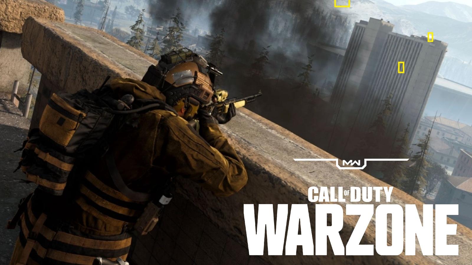 Warzone hacks yellow boxes