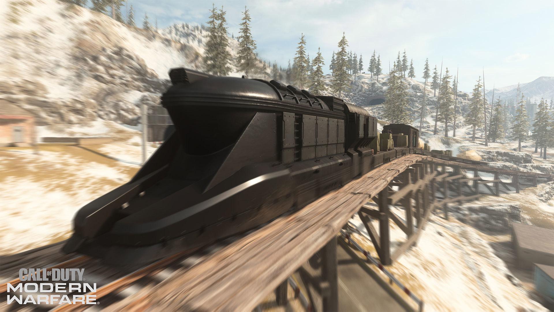 train in warzone
