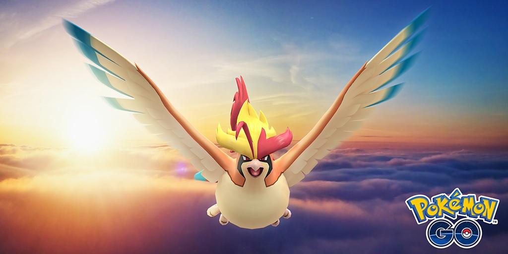 Pidgeot Mega Evolution