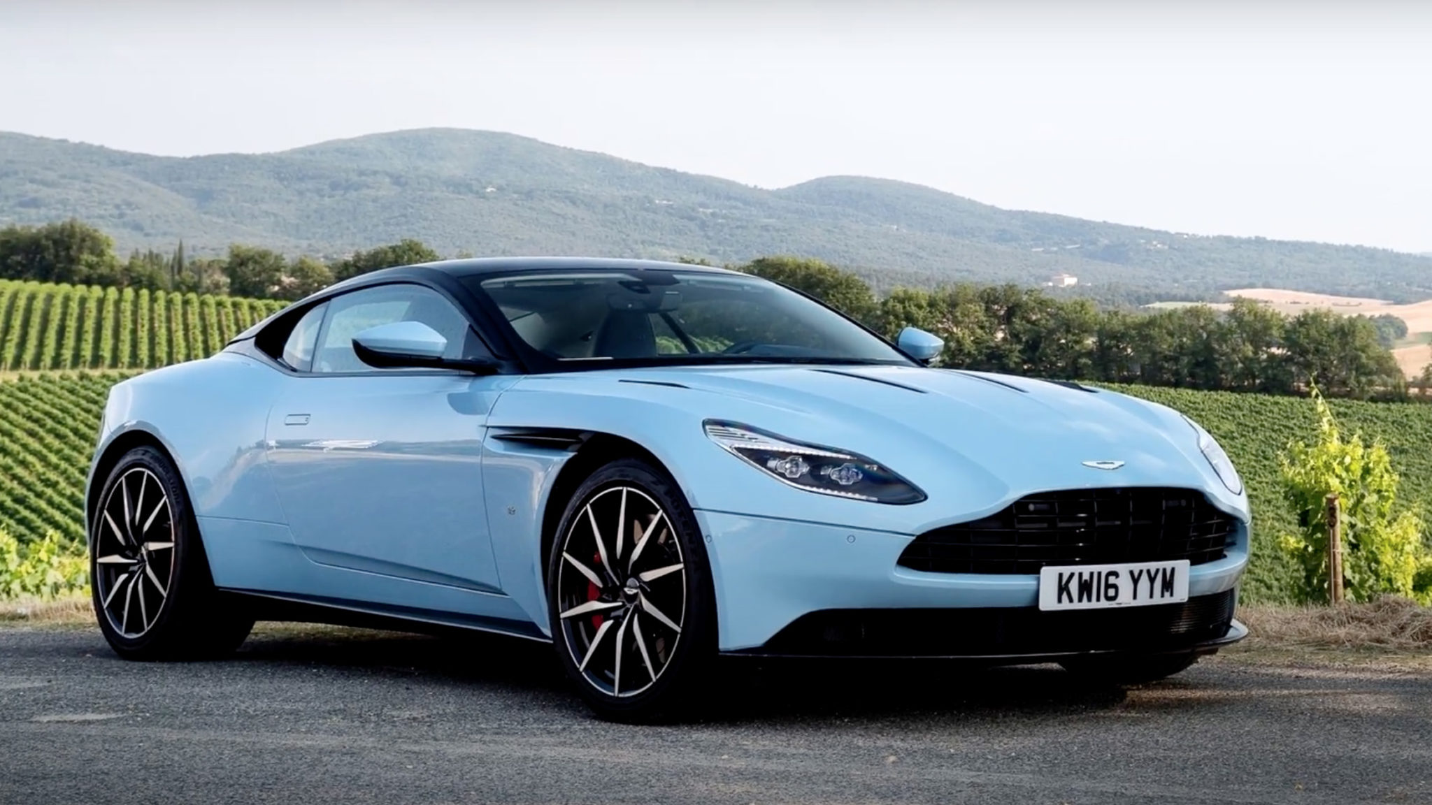 Aston Martin DB11 Frosted Blue