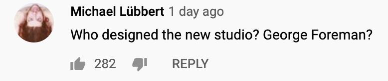 Commenter on Joe Rogan's new studio