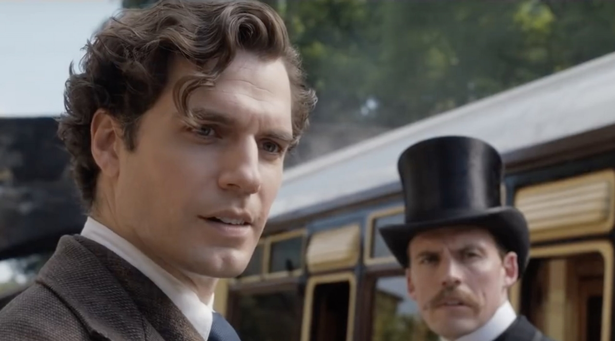Henry Cavill just can't get enough of playing iconic movie roles like Sherlock Holmes and Superman, it seems.