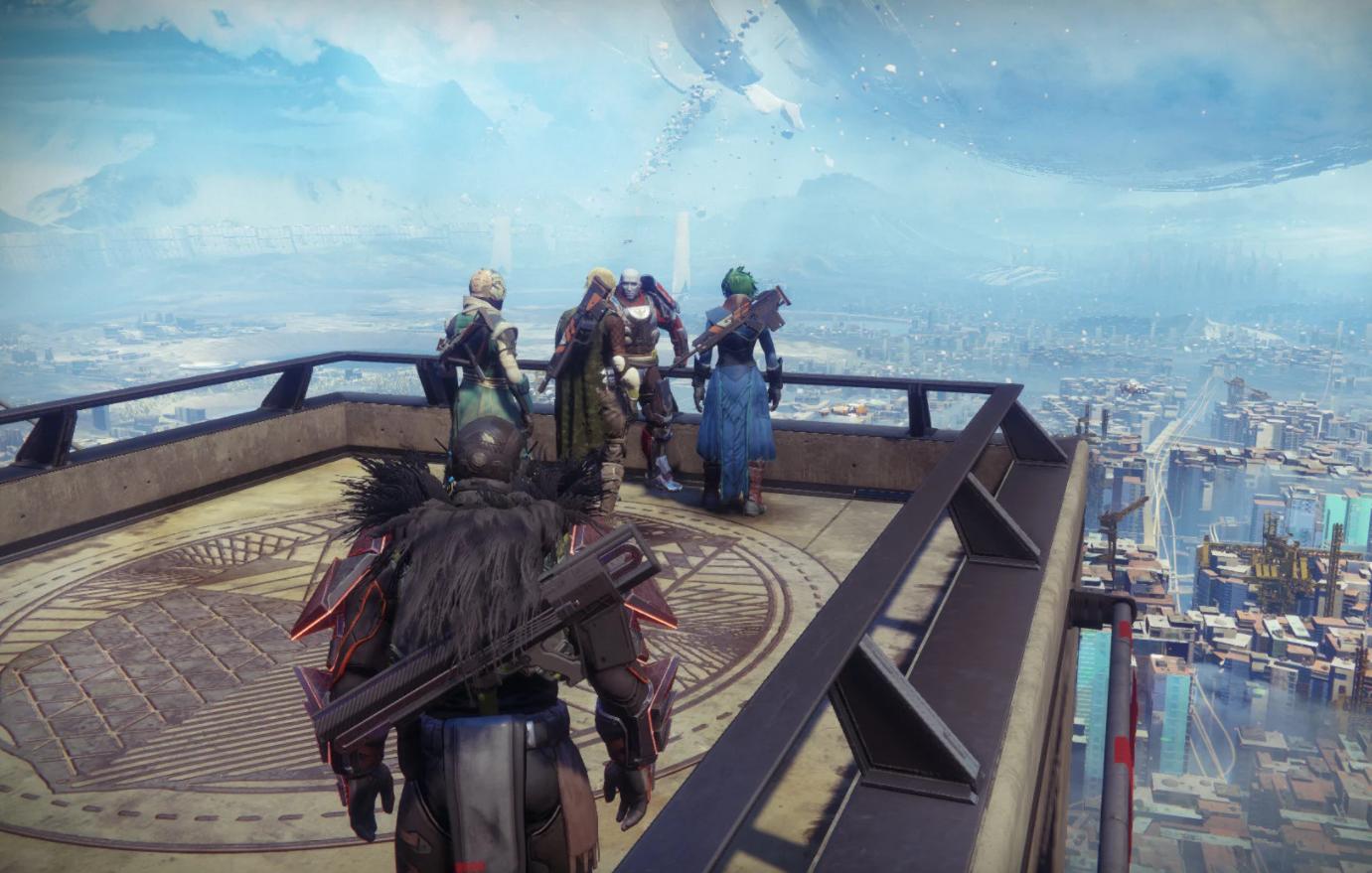 Destiny 2 tower