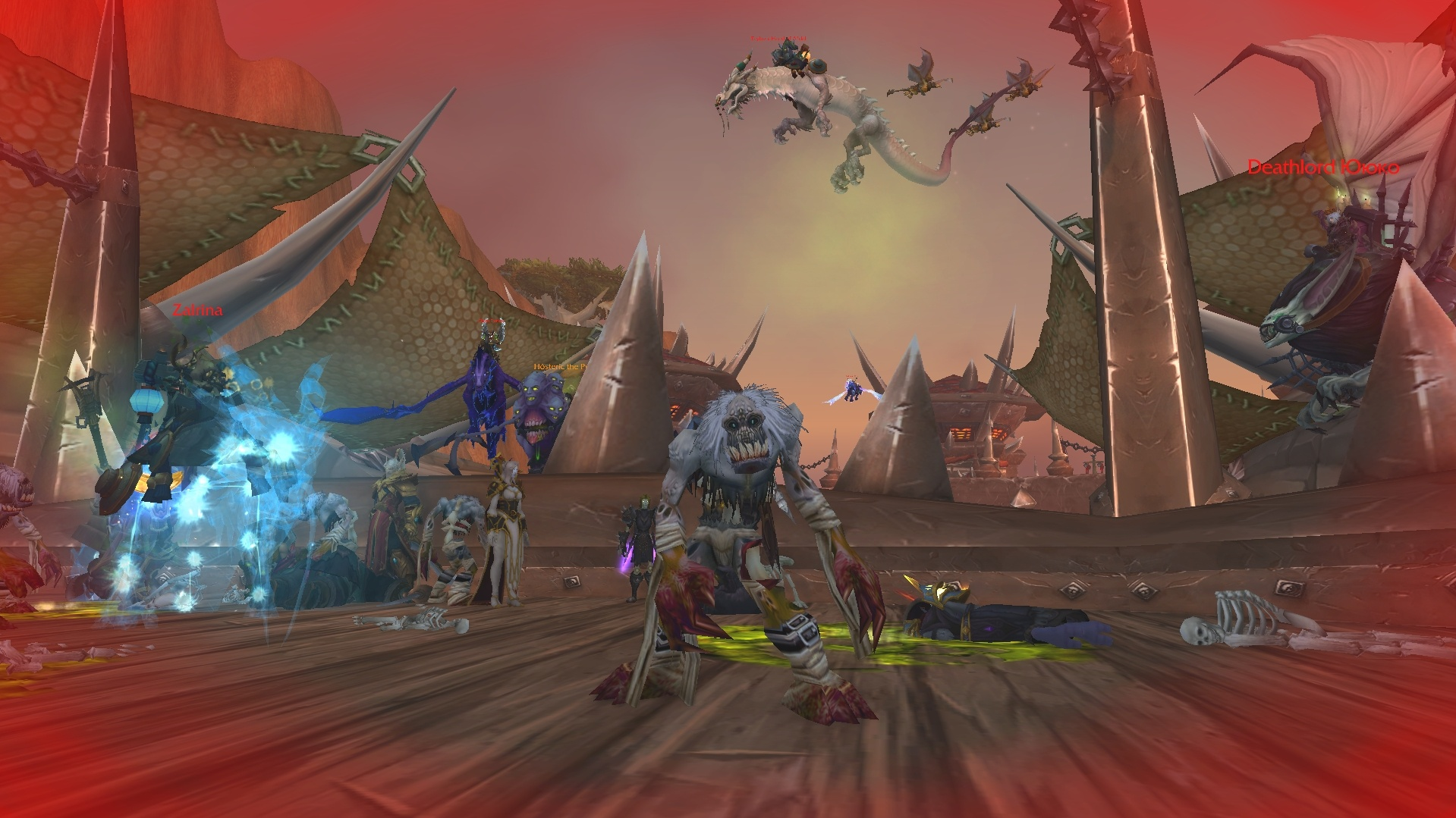 Hordes of zombies will invade World of Warcraft during the Shadowlands pre-patch.