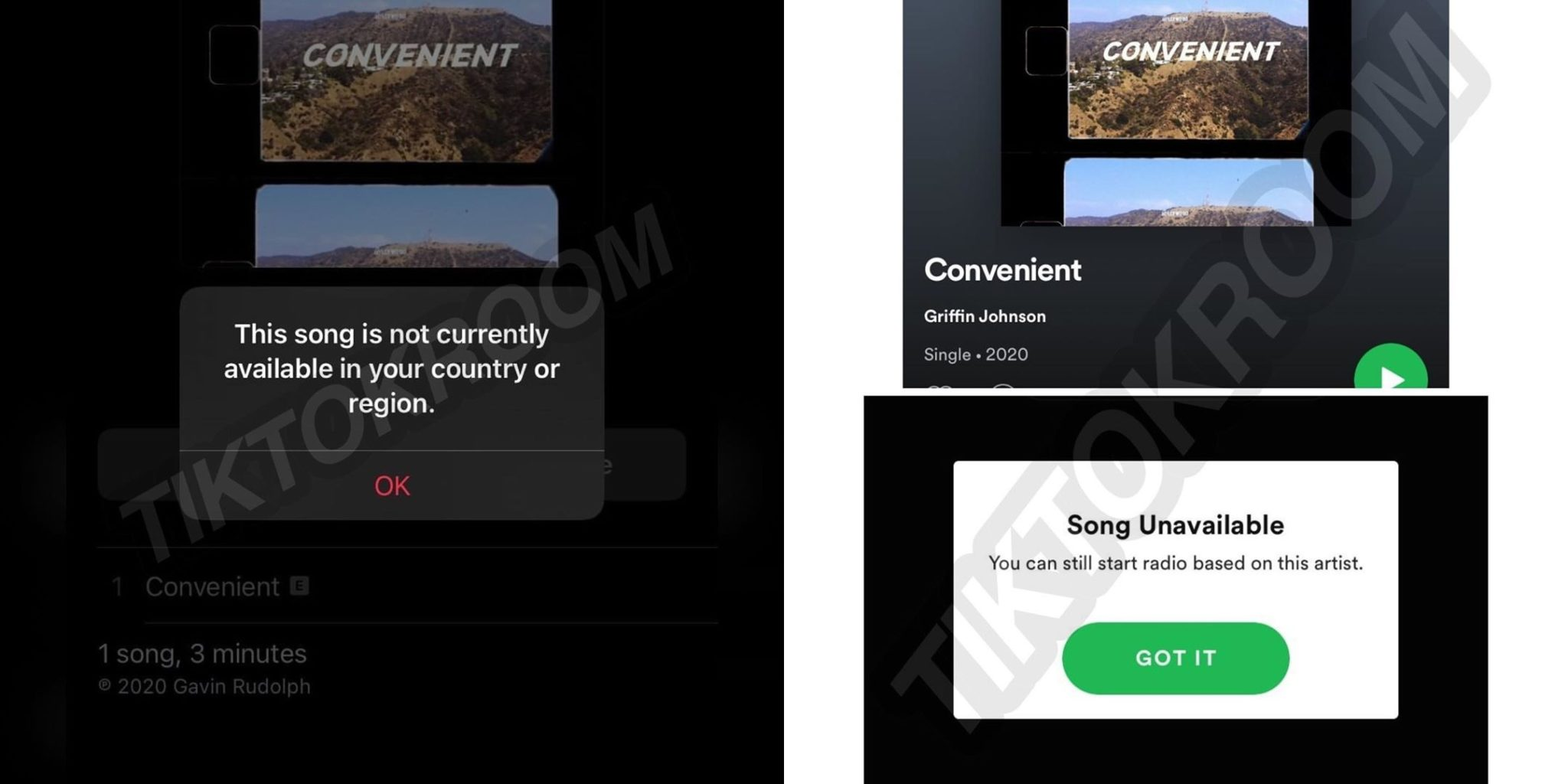 Griffin Johnson deleted Convenient Spotify Apple Music