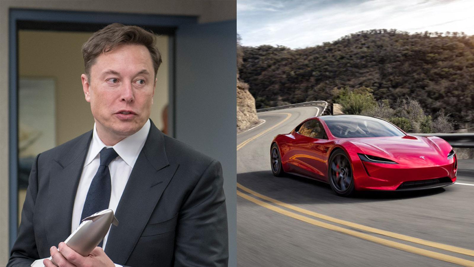 Elon Musk Announces Tesla Roadster on Nurburgring