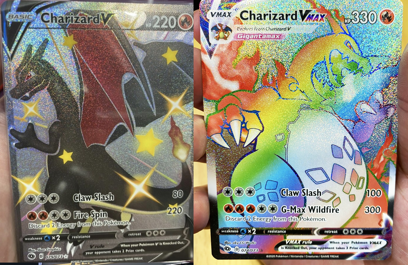 champion's path charizard pokemon cards