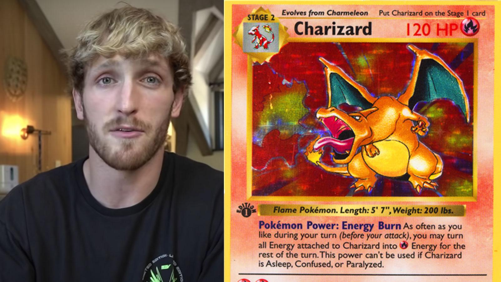 pokemon card logan paul
