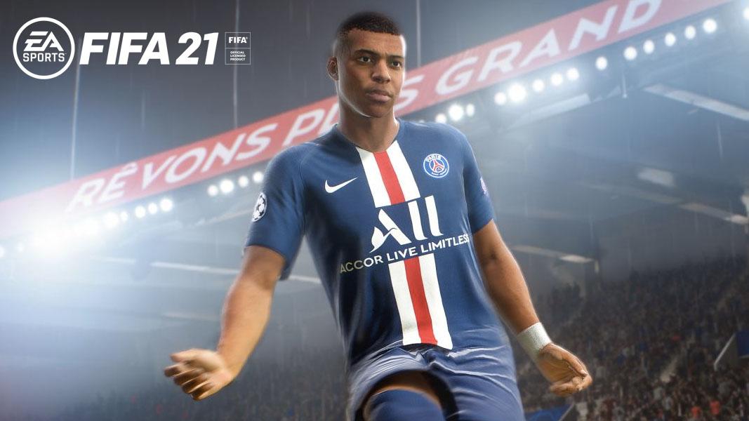 Kylian Mbappe in FIFA 21