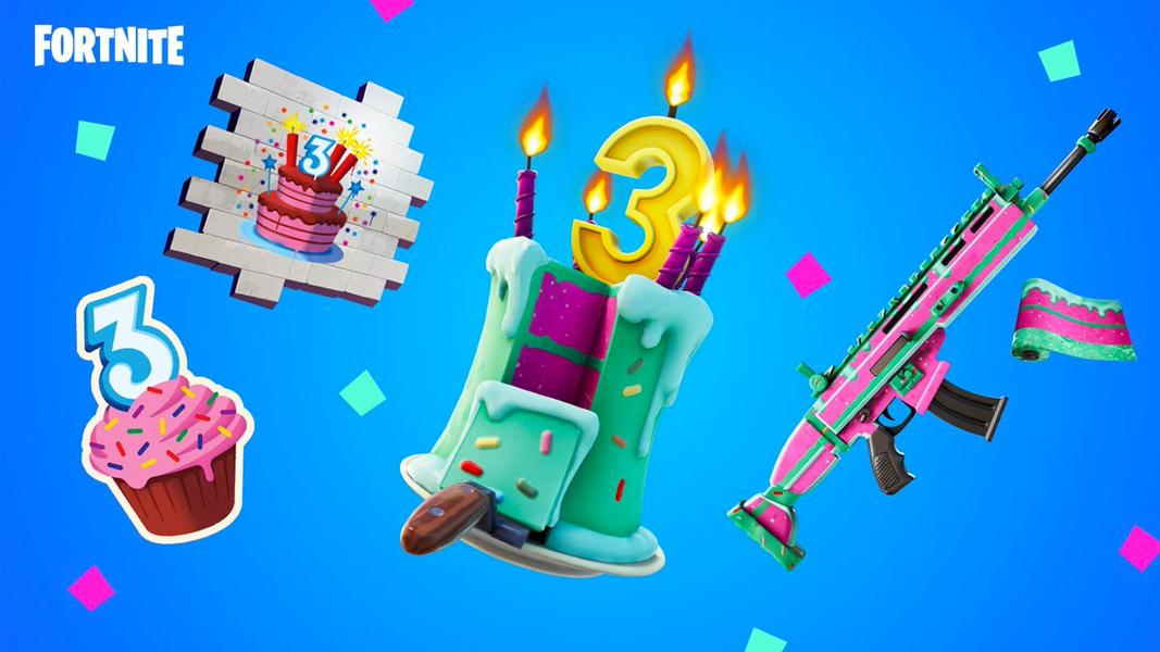 Fortnite 3rd birthday