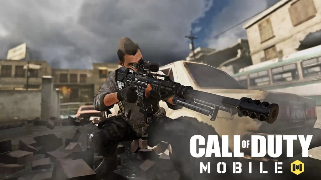 CoD Mobile character with a sniper in hand