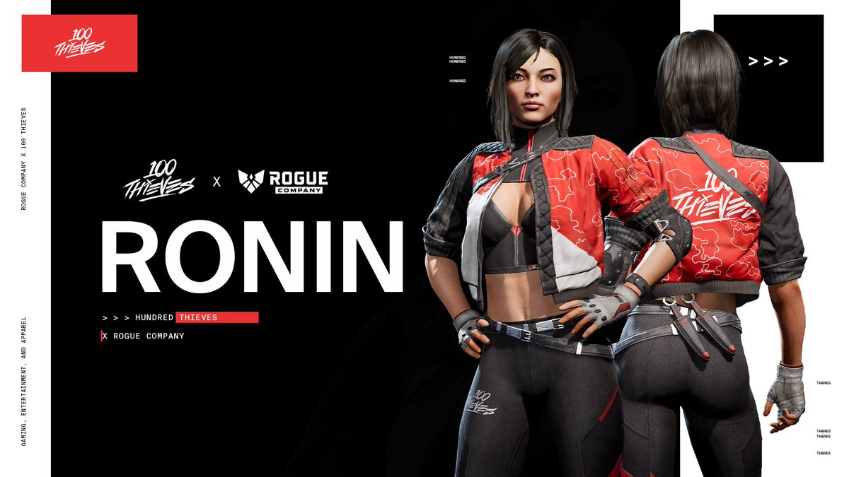Rogue Company 100T Ronin Skin