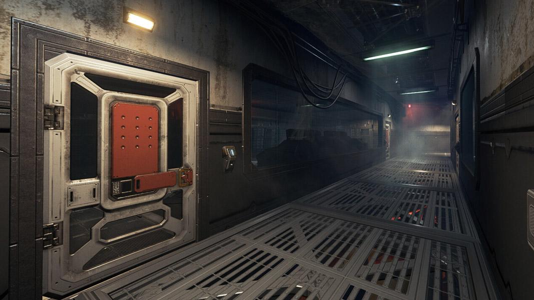 Corridor of Labs in Apex Legends