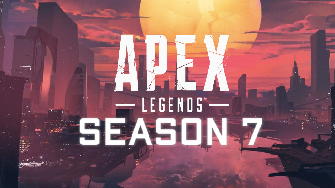 Apex Legends Olympus with the Season 7 logo