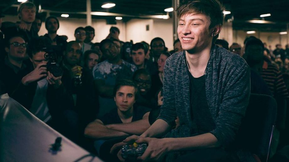 Leffen playing Smash