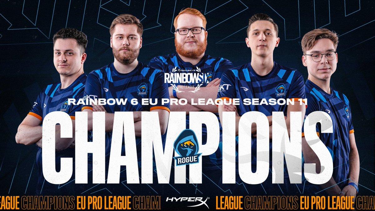 Rogue R6 Pro League champions
