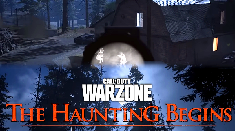 First Look At Warzone Night Map In Haunting In Verdansk Season 6 Event Dexerto