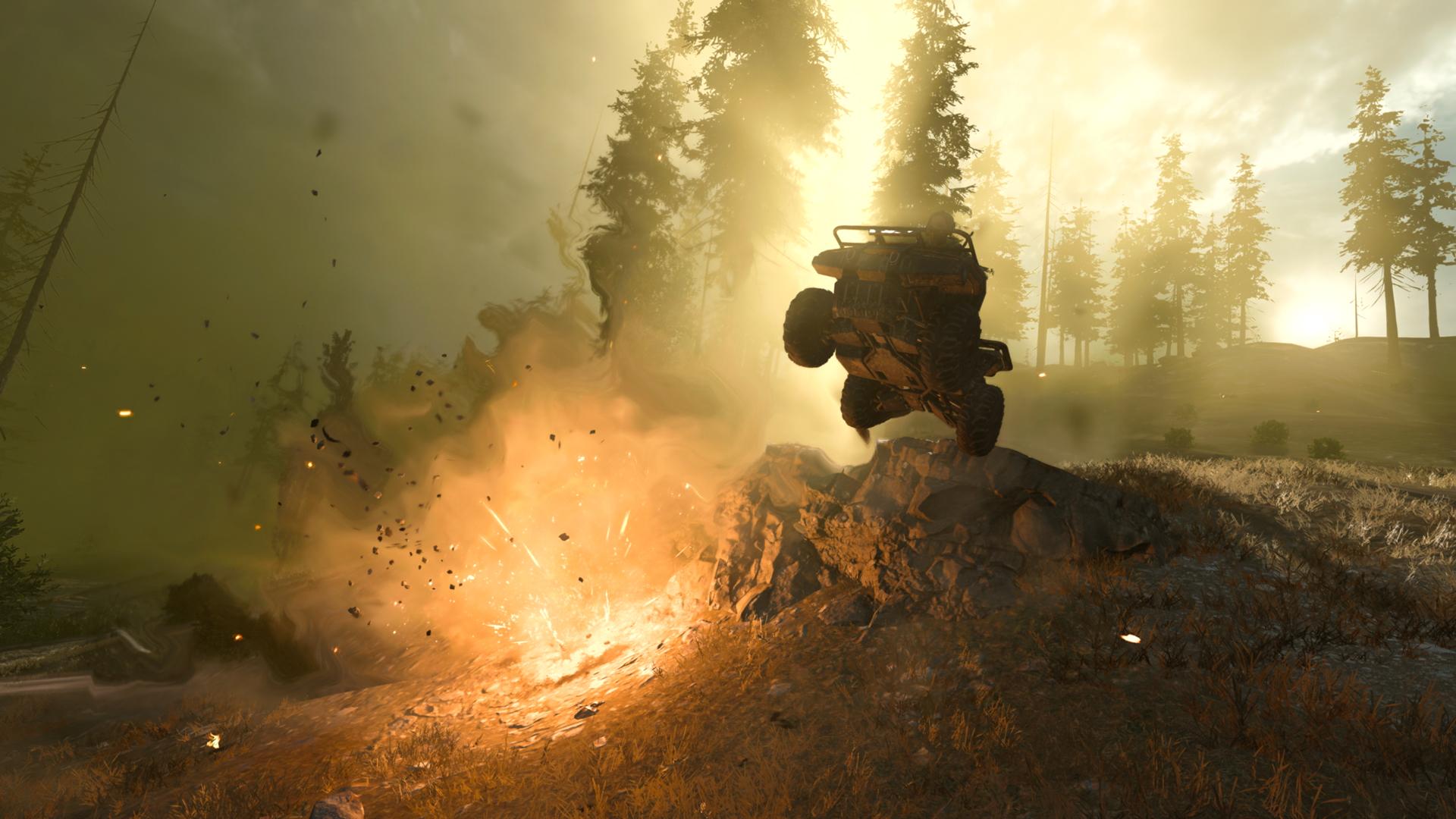 Warzone vehicle gameplay
