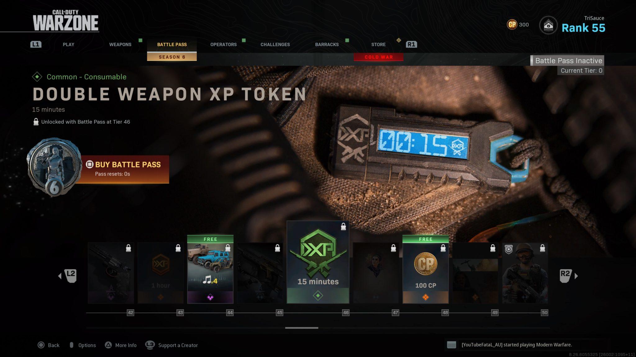 Warzone Season 6 Battle Pass