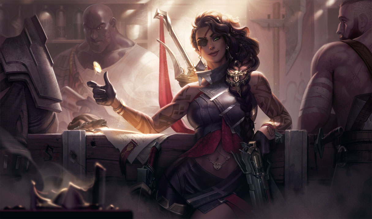 Samira was dominating League of Legends solo queue after her patch 10.19 release.