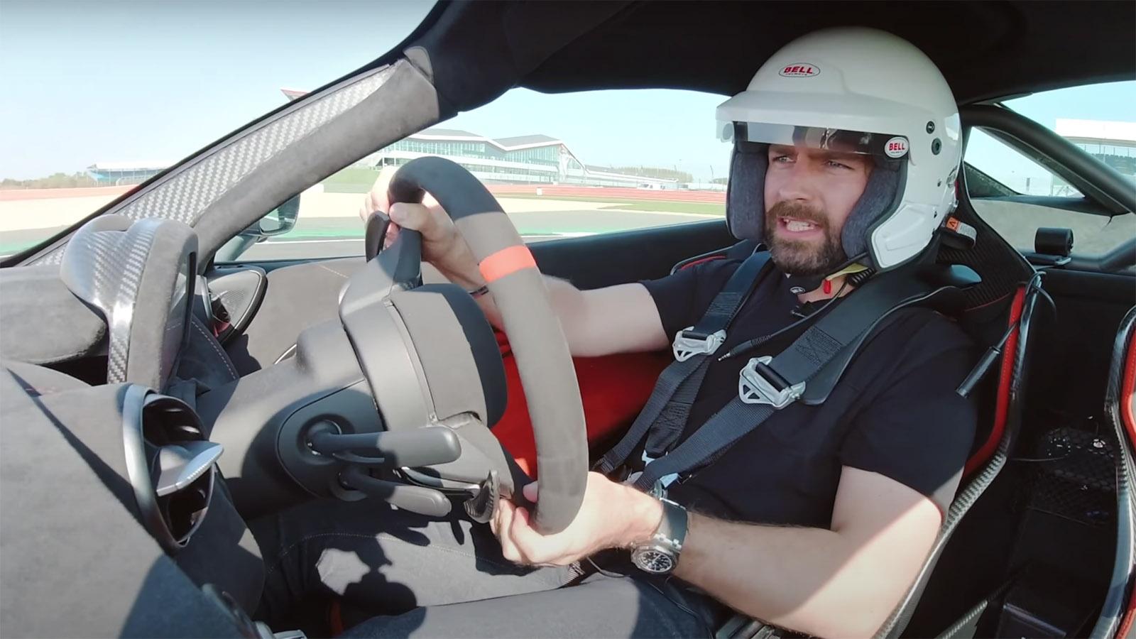 JWW Drives McLaren 765LT