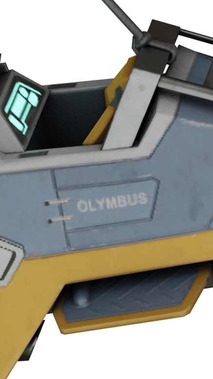 Olymbus up close