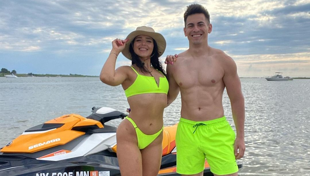 Censor and girlfriend Marilyn