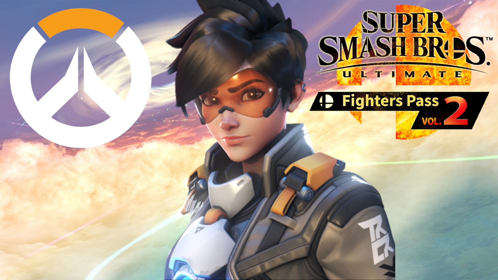 Tracer in Smash Ultimate's fighters pass volume 2