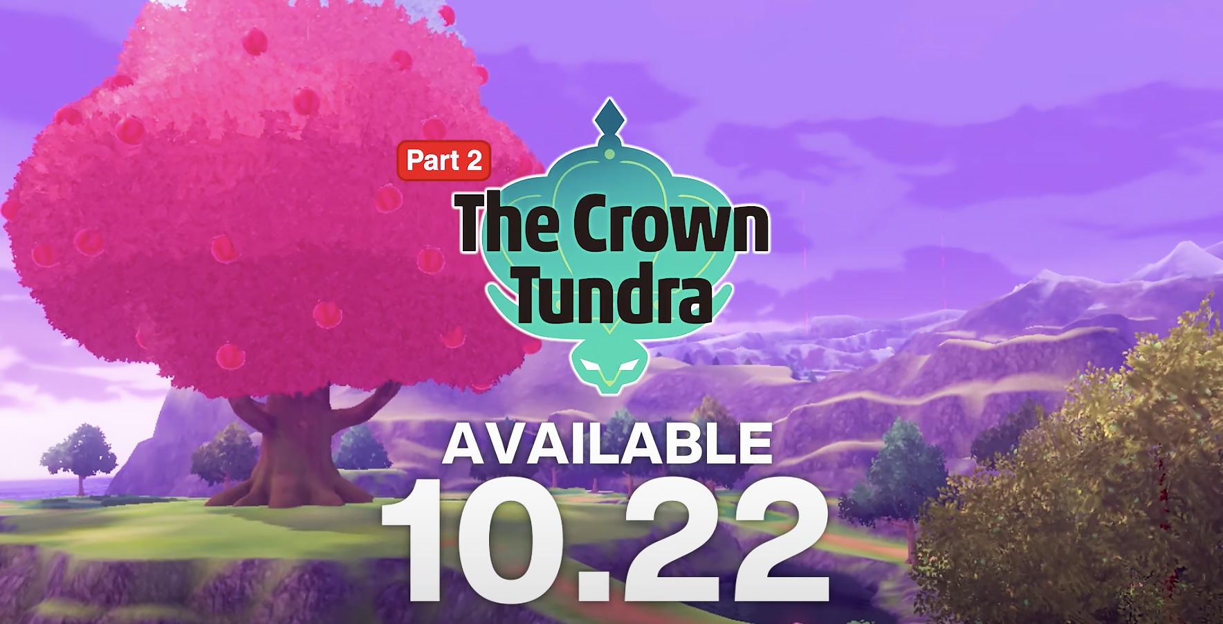 the crown tundra pokemon