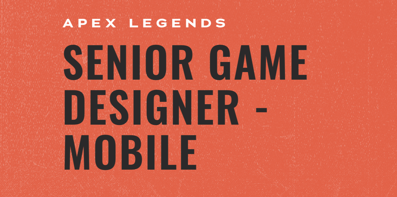 Apex Legends mobile job