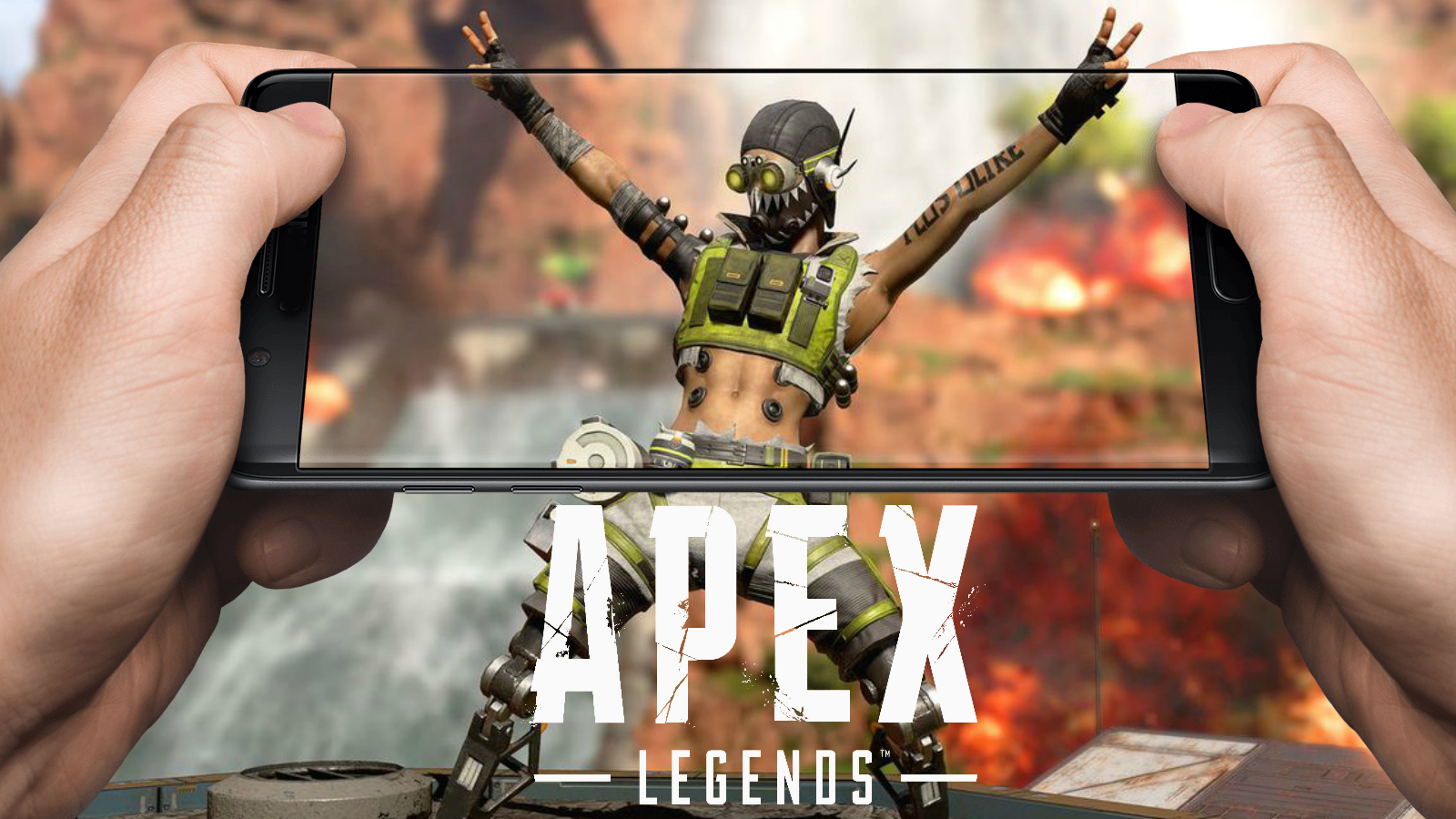 Apex Legends on mobile octane