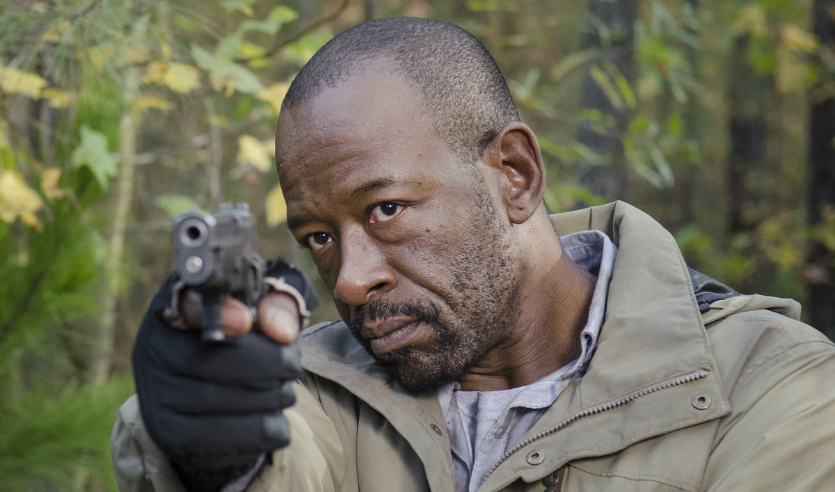 Morgan in the walking dead
