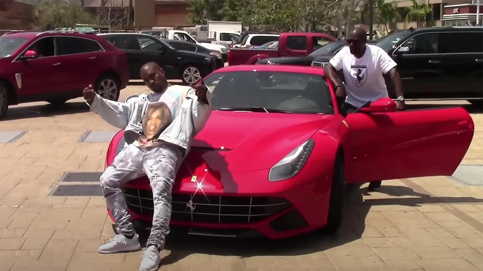 Kanye West new cars