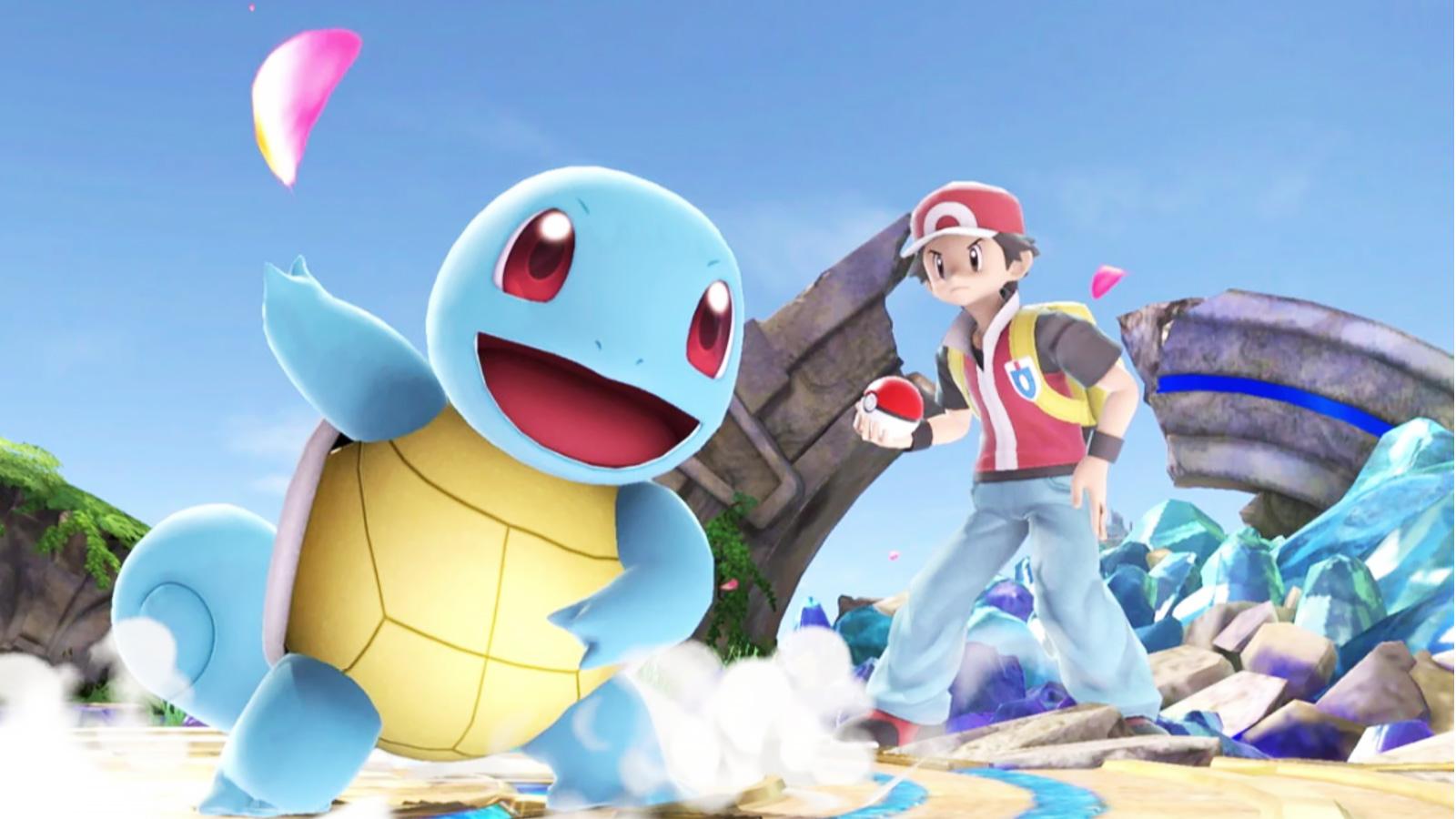 pokemon trainer in smash