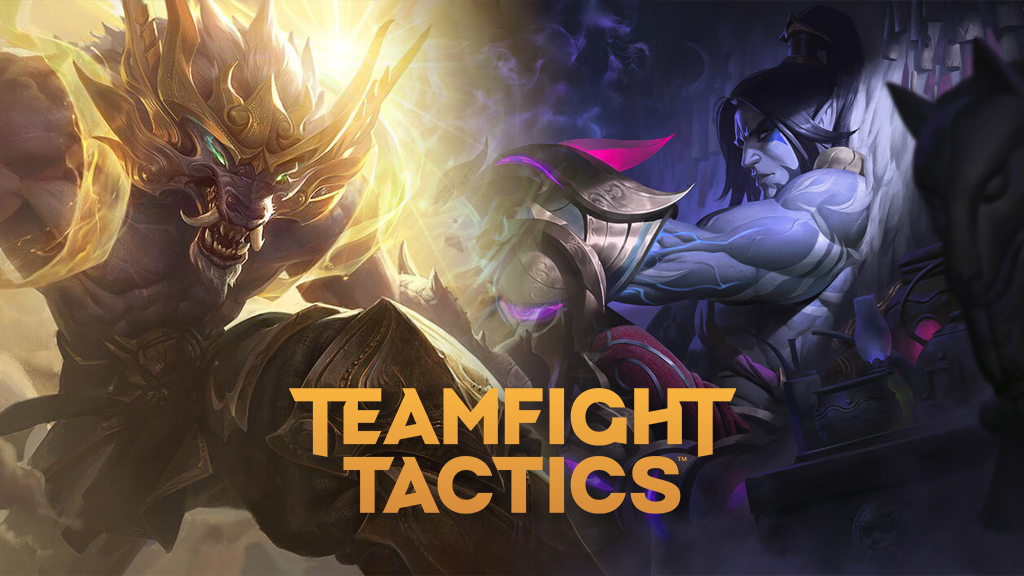 Lunar Guardian Warwick and Lunar Wraith Sylas in TFT