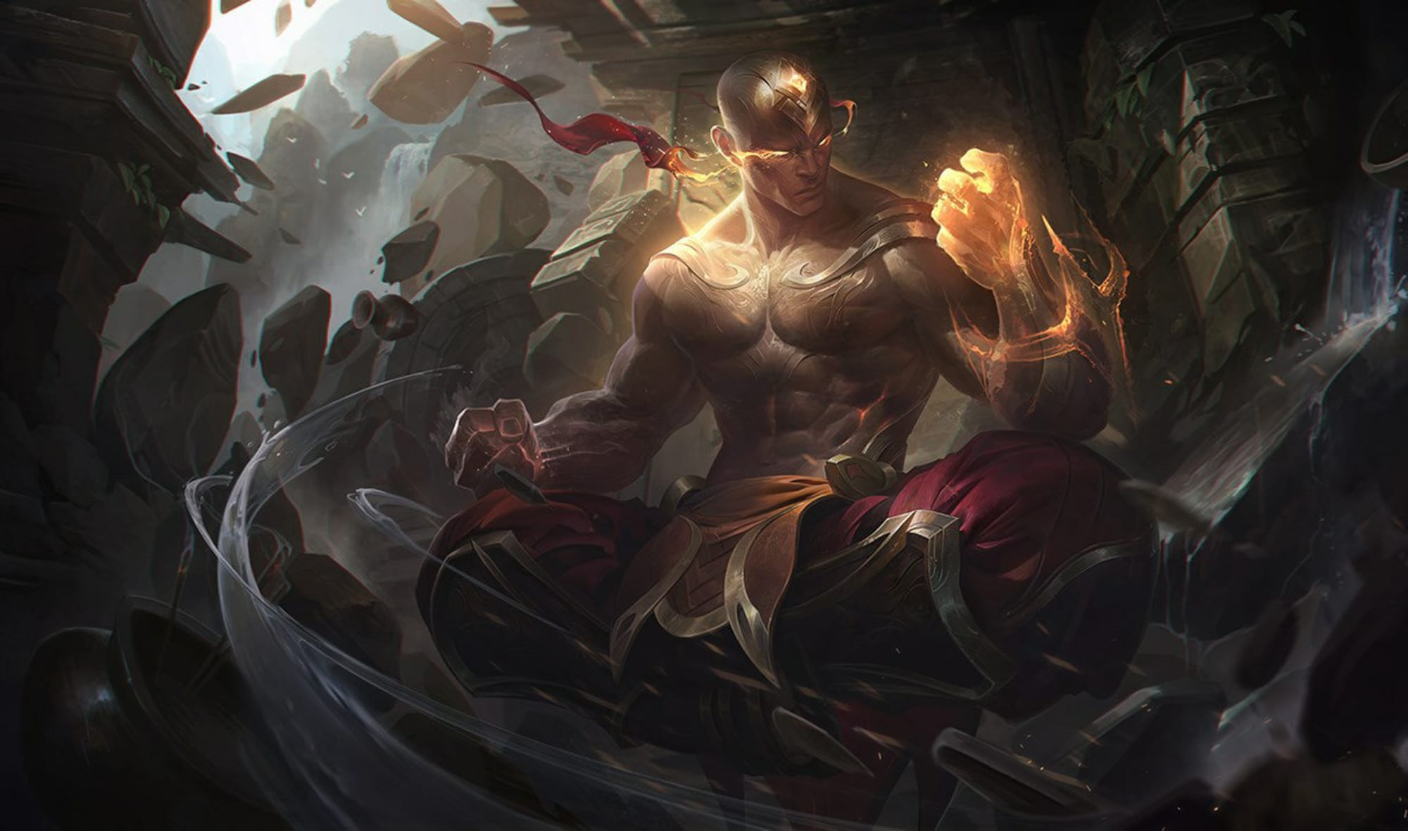God Fist Lee Sin in League of Legends