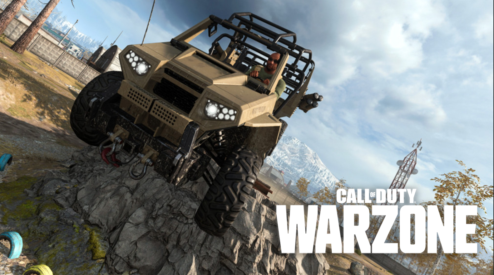 Call of Duty Warzone vehicle gameplay