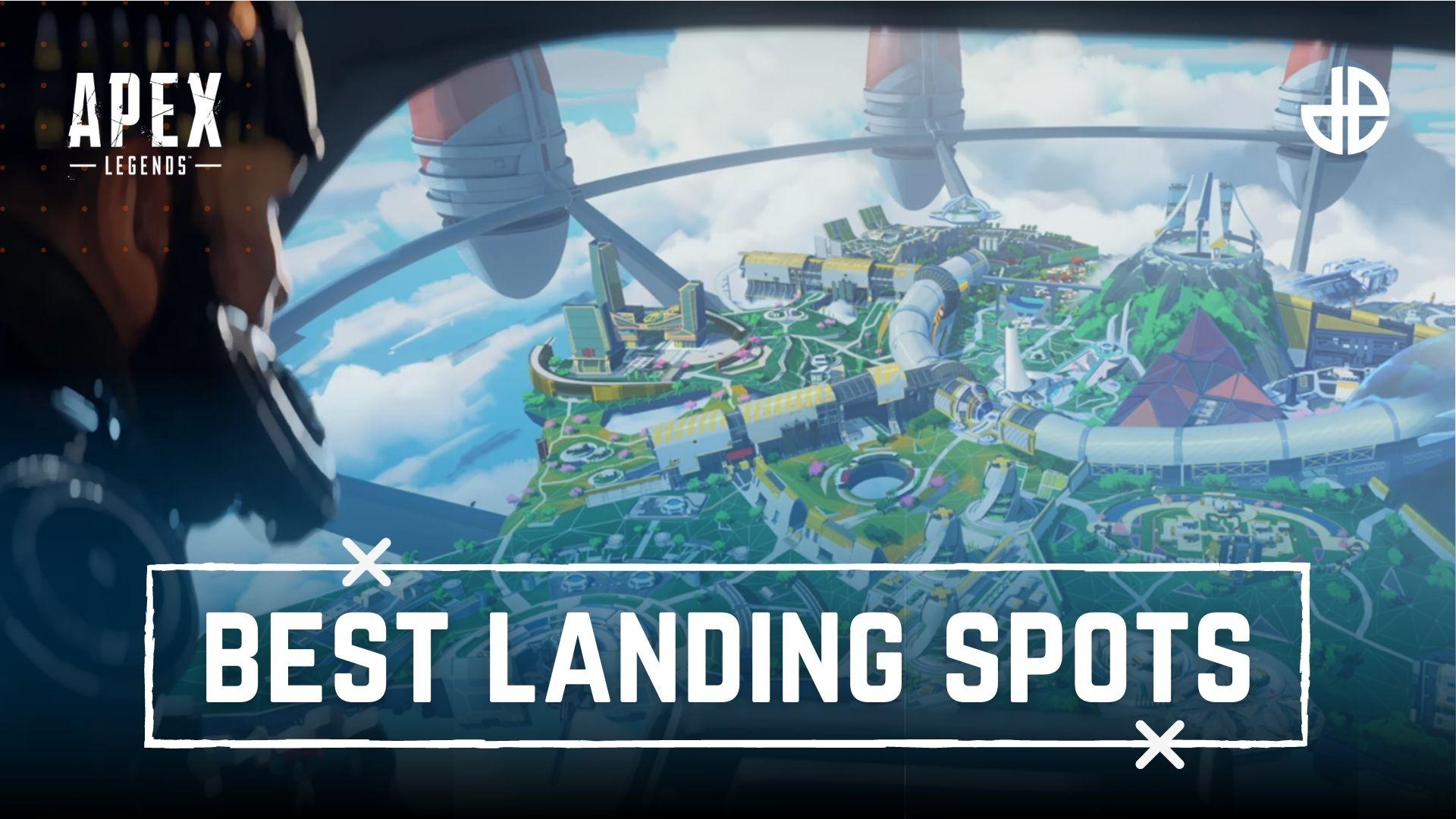 Best Olympus Landing spots Apex legends